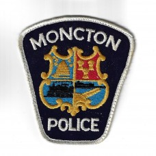 Canadian Moncton Police Cloth Patch