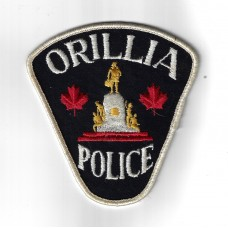 Canadian Orillia Police Cloth Patch