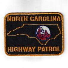 United States North Carolina Highway Patrol Cloth Patch