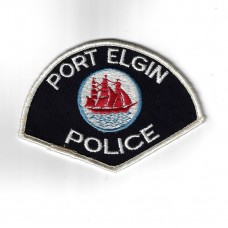 Canadian Port Elgin Police Cloth Patch