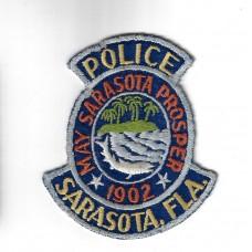 United States Sarasota Florida Police Cloth Patch