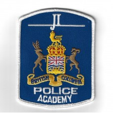 Candian British Columbia Police Academy Cloth Patch