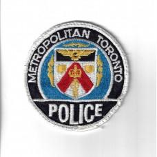 Canadian Metropolitan Toronto Police Patch