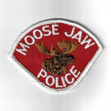 Candadian Moose Jaw Police Cloth Patch