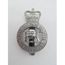 Nottinghamshire Combined Constabulary Cap Badge - Queen's Crown