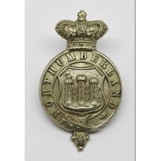 Victorian Northumberland Constabulary Kepi Badge