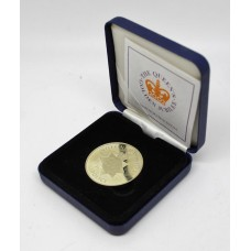 Nottinghamshire Police 2002 Queen's Golden Jubilee Royal Mint Commemorative Medal