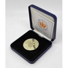 Nottinghamshire Police 2002 Queen's Golden Jubilee Royal Mint Commemorative Medal