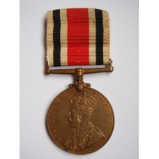 George V Special Constabulary Long Service Medal - Herbert E. Copeman