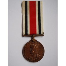 George V Special Constabulary Long Service Medal - Leo Ricken