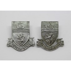 Pair of Devon Constabulary Collar Badges