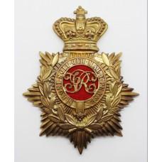 Victorian Military Foot Police Helmet Plate