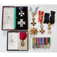 An Interesting K.C.V.O., Most Honourable Order of the Bath C.B. (Civil) Medal Group of Ten awarded to Sir Richard Philip Cave (Lieutenant, Rifle Brigade)