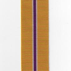 Queen's Golden Jubilee Commemorative Medal Ribbon – Full Size