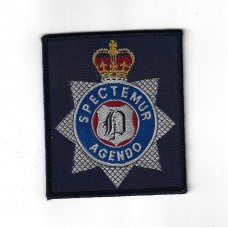 North Yorkshire Police Training School Newby Wiske Cloth Patch Badge