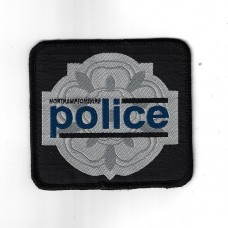Northamptonshire Police Cloth Uniform Patch Badge