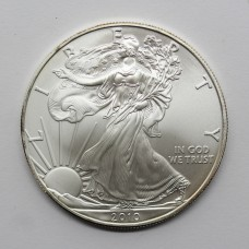 2010 American Eagle 1oz Fine Silver $1 One Dollar Coin