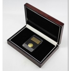 2016 Gibraltar Queen Elizabeth II & Prince Philip Birthday Gold Proof Third Guinea Coin