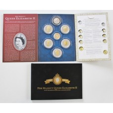 2016 Queen Elizabeth II 90th Birthday Coin Set Inc. 9ct Gold Coin - Nine Decades Gloriously Accomplished