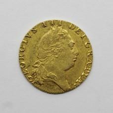 1793 George III 22ct Gold Guinea Coin