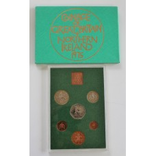 1975 Coinage of Great Britain and Northern Ireland Proof Coin Set