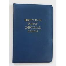 1971 Britain's First Decimal Coins Set