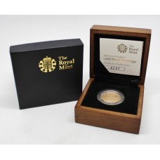 Royal Mint 2008 United Kingdom 22ct Gold Proof Sovereign Coin in Box