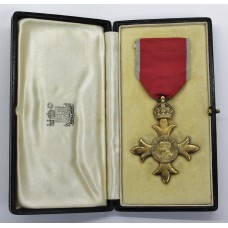 George V Most Excellent Order of the British Empire Officers O.B.E. - 2nd Type (Civil)
