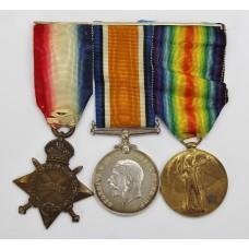 WW1 1914-15 Star Medal Trio - Pte. J.F. Day, Royal Army Medical C