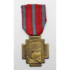 Belgium WW1 Fire Cross 1914-1918 (Type 1)
