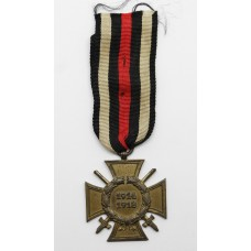 German WW1 Honour Cross 1914-1918 with Swords