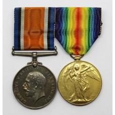 WW1 British War & Victory Medal Pair - Capt. W.S. Lonsdale, Royal Engineers