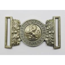 London Scottish Volunteers Officer's Waist Belt Clasp