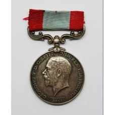 George V Rocket Life Saving Apparatus Volunteers Long Service Medal - William Henry Watts