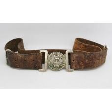 Victorian General Service Volunteers Belt & White Metal Buckle