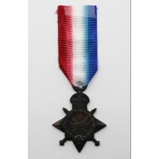 WW1 1914-15 Star - Sjt. H. Woolmer, Royal Field Artillery