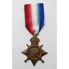WW1 1914-15 Star - Pte. R. Beasley, York & Lancaster Regiment