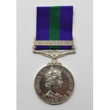 General Service Medal (Clasp - Near East) - Pte. J. Stewart, Royal Scots