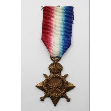 WW1 1914-15 Star - Pte. G. Wraith, 6th Bn. Northumberland Fusiliers