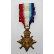 WW1 1914-15 Star - Gnr. J. Dalgleish, Royal Field Artillery