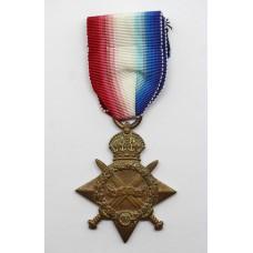 WW1 1914-15 Star - Pte. L.A. Jenkins, Rifle Brigade