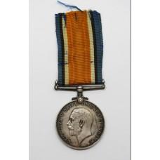 WW1British War Medal - Fireman E. Cullis, Mercantile Fleet Auxiliary