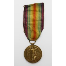 WW1 Victory Medal - Sjt. W.W. Rhodes, 3rd Bn. West Riding Regiment (Duke of Wellington's) - Died of Wounds