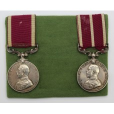 George V Long Service & Good Conduct Medal and Meritorious Se