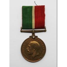 WW1 Mercantile Marine War Medal 1914-18 - Albert Stanbrook