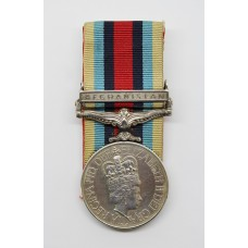 OSM Afghanistan Medal - Tpr. T.D. Sibson, 9th/12th Royal Lancers