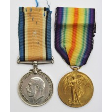 WW1 British War & Victory Medal Pair - Pte. A. Jenkins, Grenadier Guards - Killed In Action