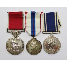 British Empire Medal (Civil), 1977 Silver Jubilee & Police Long Service & Good Conduct Medal Group - Const. Idriswyn Ford, South Yorkshire Police
