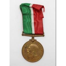 WW1 Mercantile Marine War Medal 1914-18 - Leonard S. Harraden