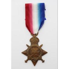 WW1 1914-15 Star - Gnr. F. Manning, Royal Field Artillery